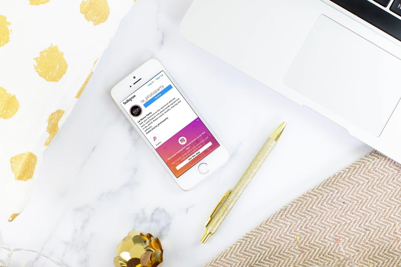 Instagram Marketing Strategies for Your Photo Booth Rental