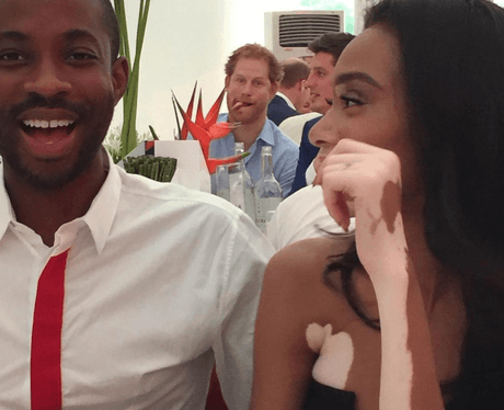 Winnie Harlow Prince Harry Instagram photo