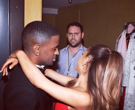 Ariana Grande, Big Sean, and Scooter Braun