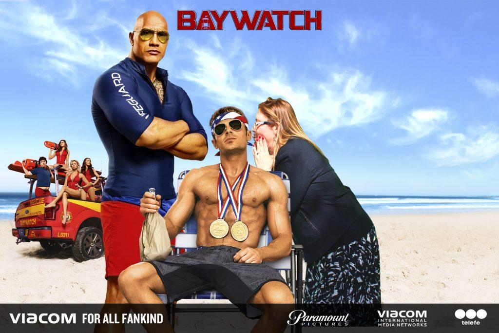 Baywatch green screen props