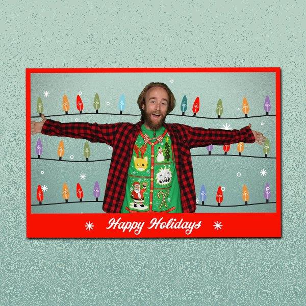 Happy Holidays Lights 2