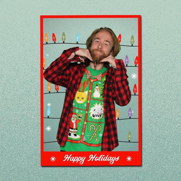Happy Holidays Lights 3