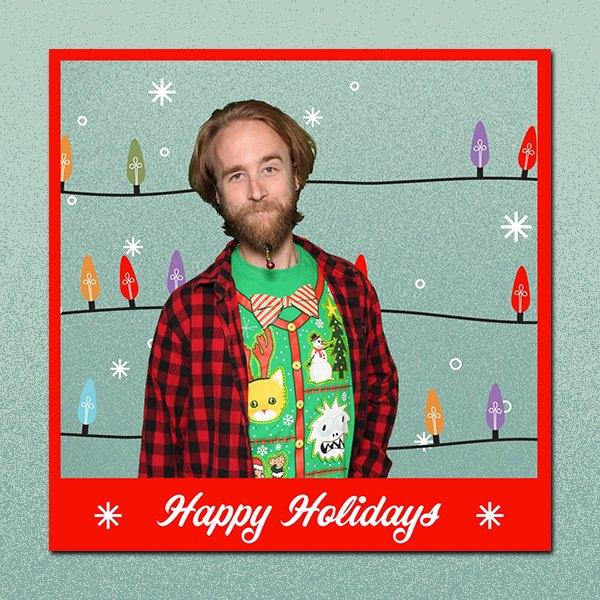 Happy Holidays Lights 1